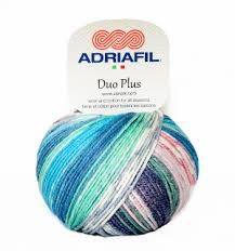 Adriafil Duo Plus DK Yarn - Wool/Cotton