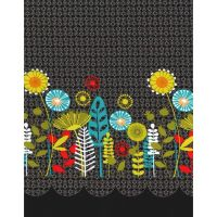Michael Miller Fabric - Flowers Aplenty Posey Border
