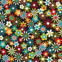Michael Miller Fabric - Flowers Aplenty Main