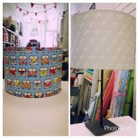 <!-- 002 -->Lampshade Making Thursday 9th Feb 6.30 - 8.30pm. Normal Price £25.00