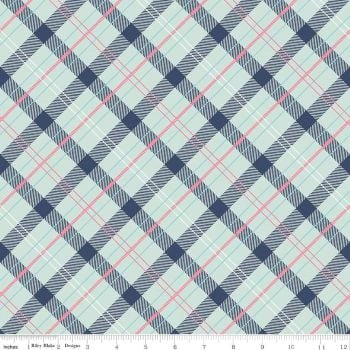 Riley Blake Designs Fabric - Enchanted Collection - Dot Navy