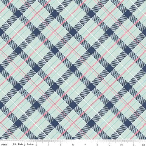 Riley Blake Designs Fabrics - Enchanted Collection - Dot Navy