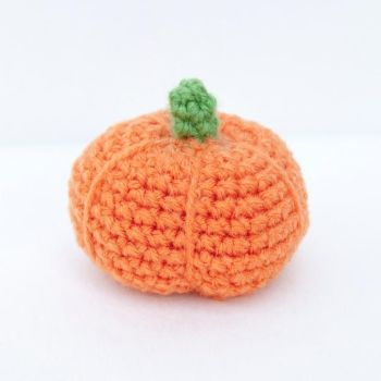 Amigurumi Crochet - Pumpkin - Thursday 19th October 2017 6.30pm - 8.30pm