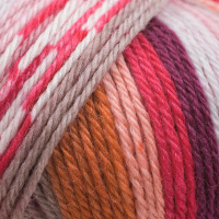 Adriafil Knitcol Wool DK - 69 Warhol Pink Purple Orange Yarn