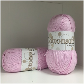 King Cole - Cottonsoft DK - Rose