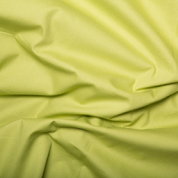 100% Cotton Chartreuse