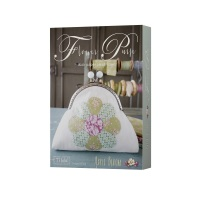 <!-- 001 -->Flower Purse Kit - Apple Bloom - Tilda