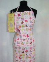 <!-- 004 -->Cup Cake Cotton Apron Sewing Kit - Craft Cotton Co
