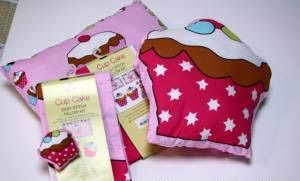 Cup Cake Cotton Pillow Sewing Kit - Craft Cotton Co