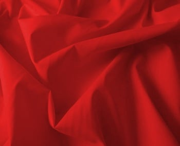 Polycotton Red