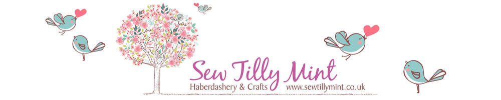 Sew Tilly Mint, site logo.