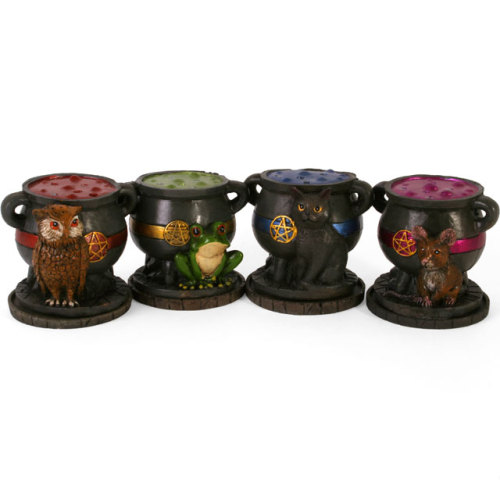 Witches Cauldron Incense Cone Burner - 4 Different Designs