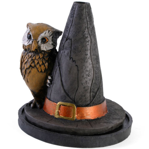 Witches Hat Incense Cone Holder - 4 Different Designs