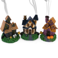 Haunted House Incense Cone Burner - 3 Different Designs