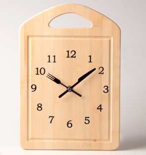 Chopping Board Clock