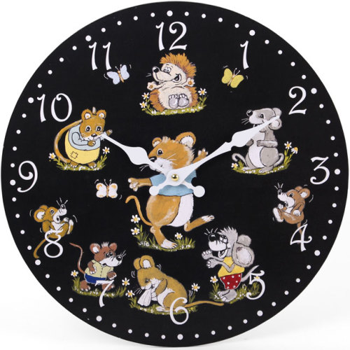 Novelty Mice Clock
