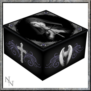 Mirror Trinket Box  - Gothic Prayer