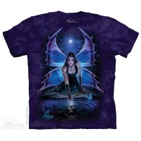 Immortal Flight Adult T Shirt - Anne Stokes