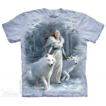 Winter Guardians Adult T Shirt - Anne Stokes
