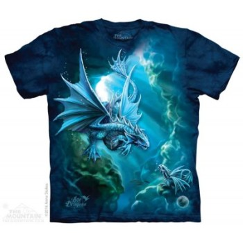 Age of Dragons - Water Dragon - Adult T Shirt - Anne Stokes