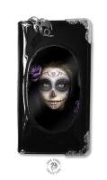 3D Lenticular Black PVC Purse - Day of the Dead - Anne Stokes