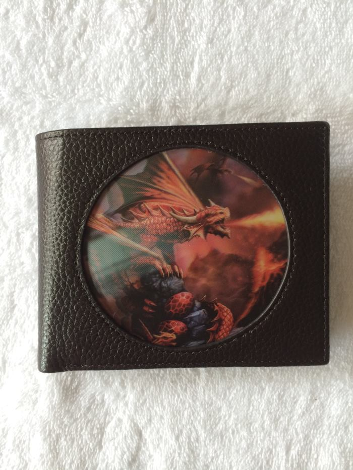 Age of Dragons - Fire Dragon - 3D Gents Wallet - Anne Stokes