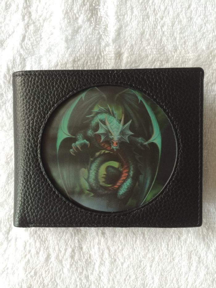 Age of Dragons - Emerald Dragon - 3D Gents Wallet - Anne Stokes