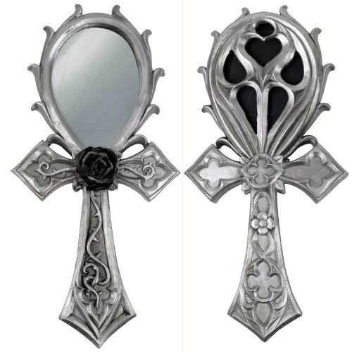 Gothic Ankh Mirror
