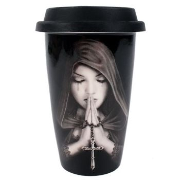 Gothic Prayer Travel Mug