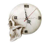 Tempore Mortis Skull Wall Clock