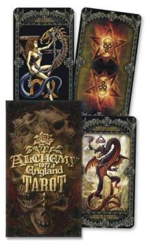 Official Alchemy Gothic Tarot Cards by Fournier