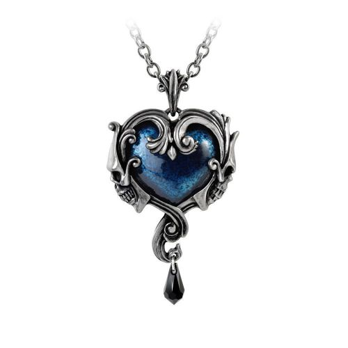 Affaire Du Coeur - Heart Shaped Skull Necklace