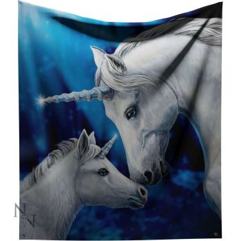 Sacred Love Fleece Throw/Blanket