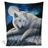 Guardian of the North Fleece Throw/Blanket