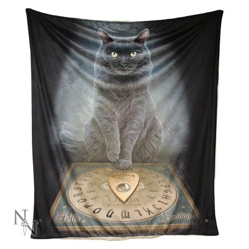 His Masters Voice Fleece Throw/Blanket