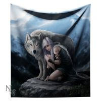 Protector Fleece Throw/Blanket