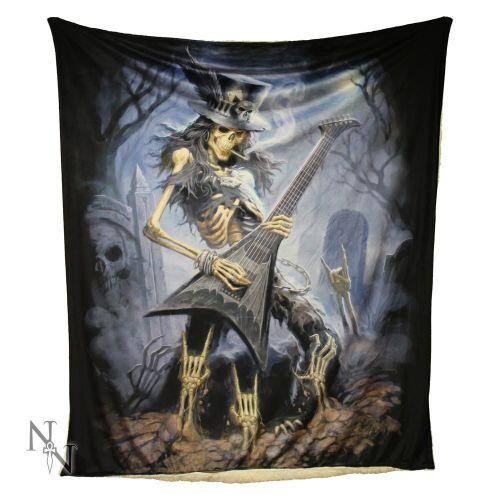 Play Dead Fleece Throw/Blanket