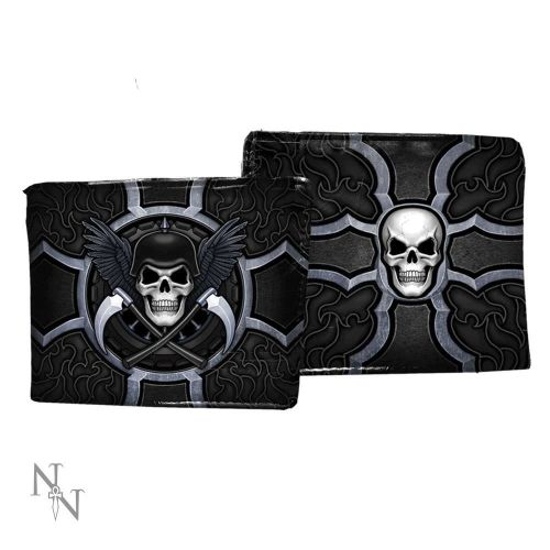 Biker Wallet by James Ryman