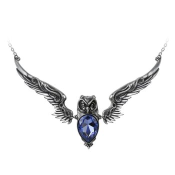 Stryx - Owl Pendant Necklace
