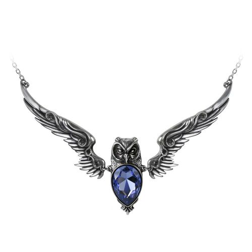 Stryx - Owl Pendant Necklace