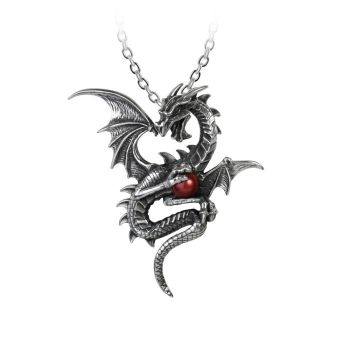 Aethera Draconem - Dragon Pendant Necklace