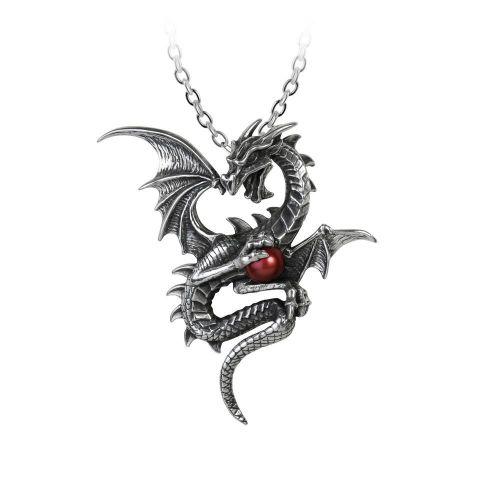 Aethera Daconem - Dragon Pendant Necklace
