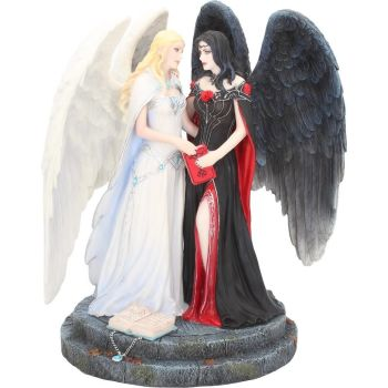 Stunning Dark and Light Angels by James Ryman
