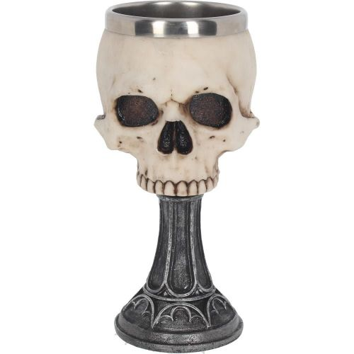 Skull Chalice Goblet by Anne Stokes