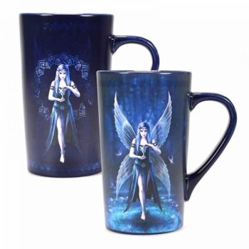 Heat Changing Latte Mug - Enchantment - Anne Stokes