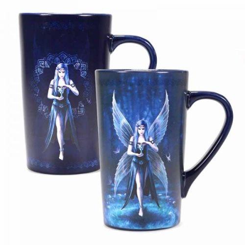 Heat Changing Latte Mug - Enchantment - Anne Stokes