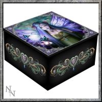 Mirror Trinket Box  - Mystic Aura