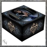 Mirror Trinket Box  - Water Dragon