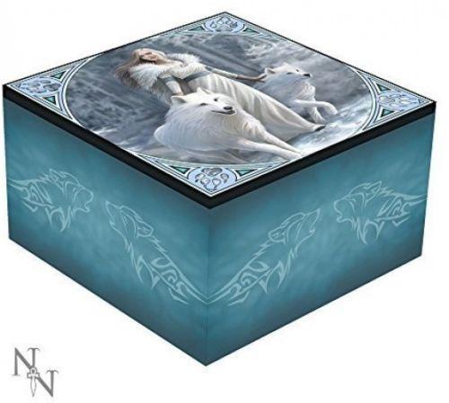Mirror Trinket Box  - Winter Guardians