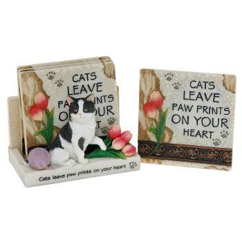 3D Classic Coaster Set - Cats